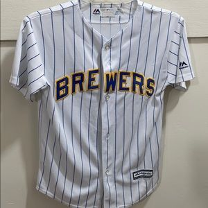 Brewers 10-12 youth jersey